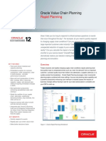 Oracle - DataSheet_VCP R12_Rapid Planning (057158)