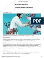 CRISPR Inspires New Tricks to Edit Genes Science News