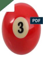 Number 3 Billiard Ball