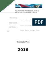 MARYORI- Informe de Practicas