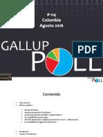 Ficha El 66 % se los colombianos desaprueban la gestión del presidente Santos
