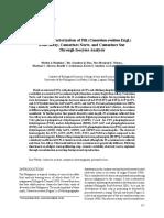 Genetic Characterization of Pili