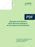 Situación de La Gestión de Los Recursos Humanos en Las Empresas de Hostelería