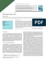 Acute Kidney Injury in ICU Review Article