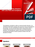 Oracle - Accelerate Big Data Adoption With Less Risk and Complexity (Preso-big-data-Adoption-1869839)