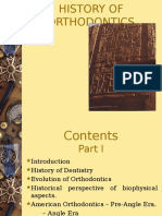 The history of orthodontics.ppt