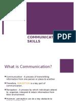 Introduction to Communication Skills