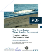 The Great Lakes Water Quality Agreement