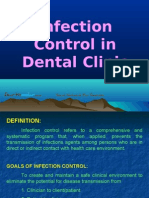 Infection Control in Dental Clinic Pedo