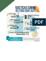 Infografia Estadisticas Marketing