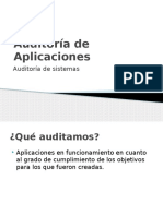 01 Auditoria de Aplicaciones