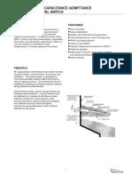 RF Capacitance/Admittance Level Switch