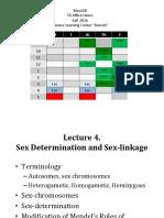 Lecture 4 Sex-linkage & Pedigrees 2016 .pdf