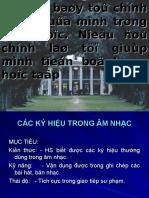 Cac Ki Hieu Thuong Dung Trong Am Nhac