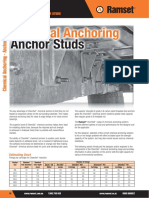 Ramset Specifiers Anchoring Resource Book ANZ Chemical Anchoring Anchor Studs
