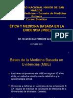 Etica y Med Basada en Evidencia - SM 2015