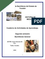 Cuaderno de Ejercicios Historia de Mexico I