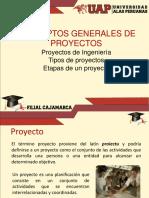 1.0 Conceptos Generales de Proyectos