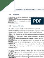 Transfer of Property Inter Vivos