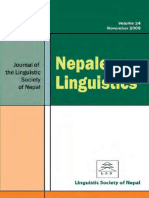 Nepalese Linguistics Vol. 24