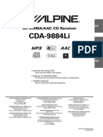 Color Coded Wiring Diagram Alpine Cda on