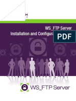 WS FTP Server Installation and Configuration Guide