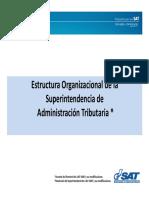 Estructura Organizacional de La SAT Agosto 2016 (1)
