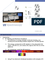 CHEM 430 Lecture 9 - UV Spectroscopy 2014