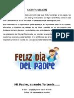Articulos sobre el Día del Padre