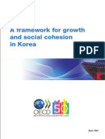 A framework for growth  and social cohesion in Korea.pdf