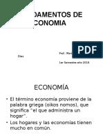 1°Diapositiva-Fundamento de Economía