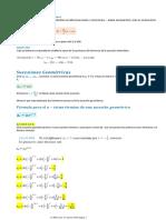 Sucesiones Aritmeticas y Geometricas