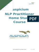 Auspicium NLP Practitioner Questions
