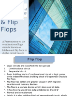 Logic Design Presentation - Latches & Flip Flops