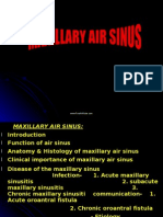 Maxillary Air Sinus Oral Surgery