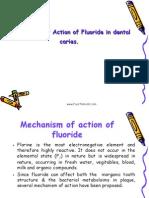 Mechanism Action of Fluorides II Pedo