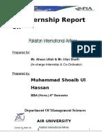 usman Internship Reort