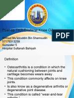 Bilateral Knee OA