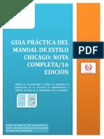 Manual de Estilo Chicago 16 Edicion