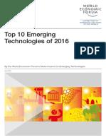 GAC16 Top10 Emerging Technologies 2016 Report