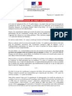 2016-09-1 Communique Du Haut-Commissaire Fiche S