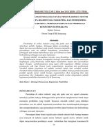 Journal Analisis Strategi Pemasaran Pada Produk Sepeda Motor Matik Berupa Segmentasi, Targeting, Dan Positioning Serta Pengaruhnya Terhadap Keputusan Pembelian Konsumen Di Semarang