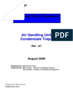 A 7 Air Handling Unit Cond Traps
