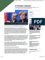 Merkel Kuscht Vor Erdogan - News International