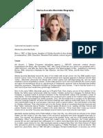Marisa Acocella Marchetto Biography