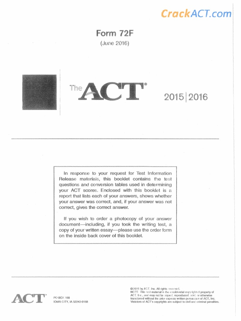 Act 2016 June No titles that are just one word or in all caps. scribd