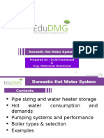 Water Plumbing Lect 3 2015 EDU