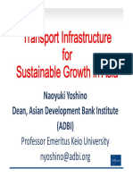 Transport Infrastructure for Sustainable Growth in Asia