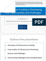 Infrastructure Funding in Developing Asia-Opportunity and Challenges
