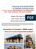 Korea Railway Development for Alternative Non-fare Revenue TOD and Taxation